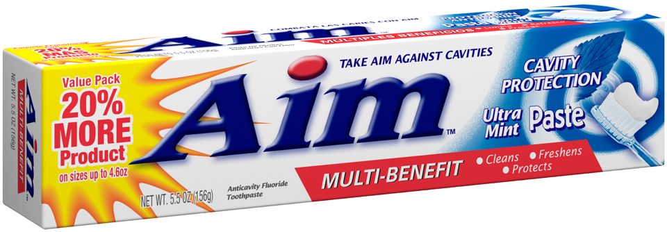 Aim 5.5 oz Cavity Protection Paste      CASE