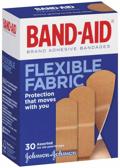 Jj Band Aid Fabric Asst  30'S   (12 Units)