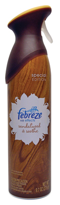 Febreze Sandlewood & Smooth 12/9.7oz   CASE