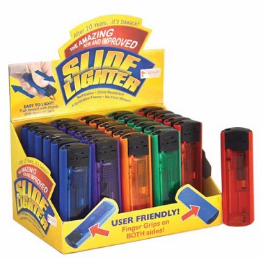 Slide Lighter 30 ct      PACK
