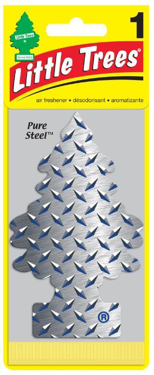 Car Fresh. Pure Steel  1'S/24   PACK