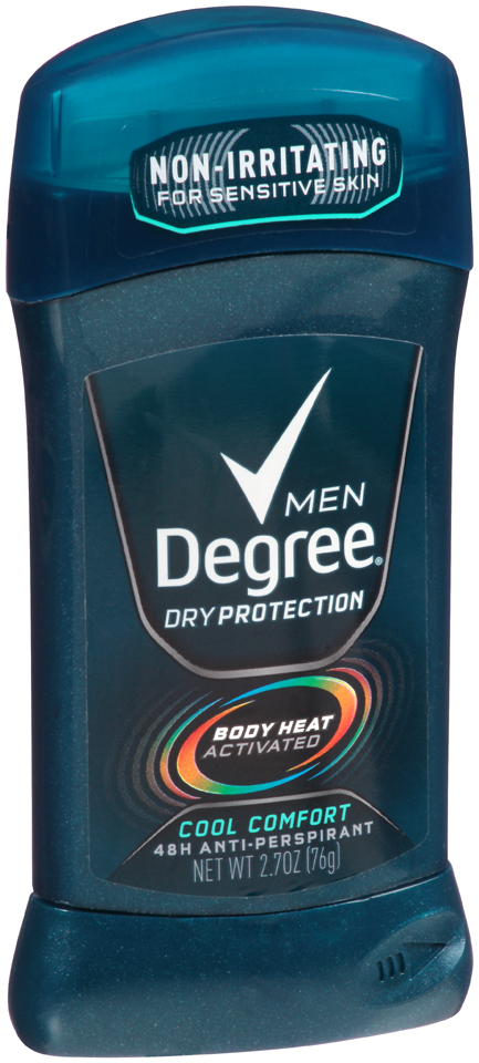 Degree Men 2.7oz  Cool Comfort      12 Pack