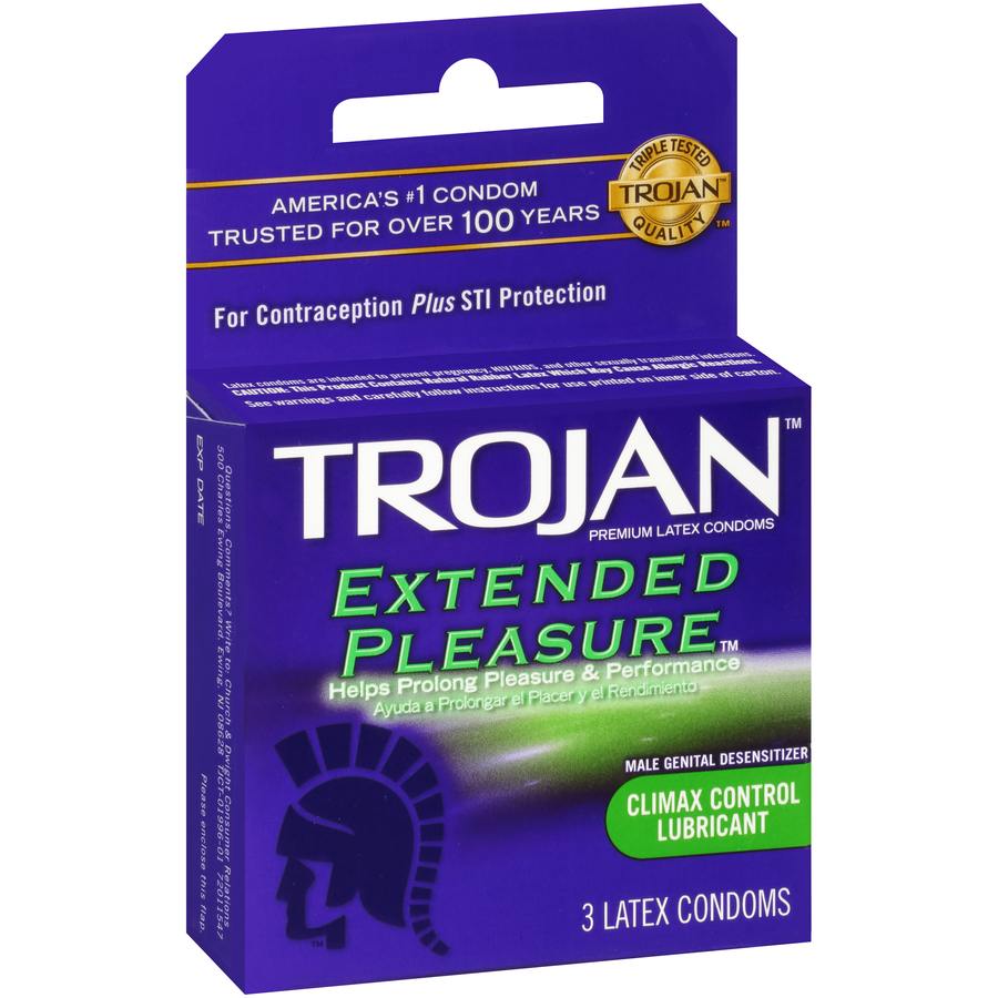 Trojan 3's Extended Pleasure   DOZ (12 UNITS)